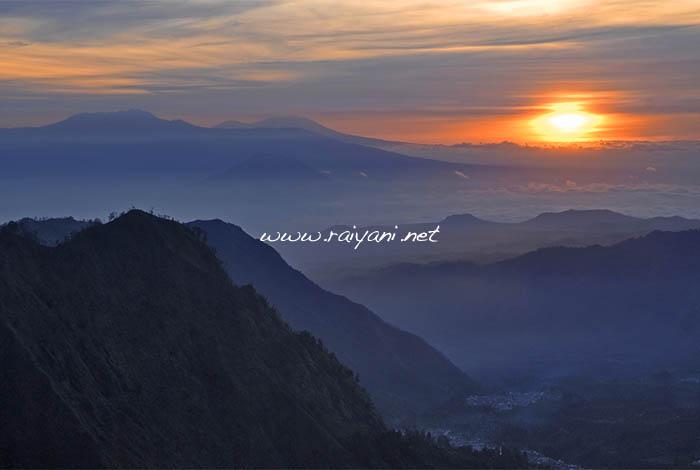 sunrise dari pananjakan