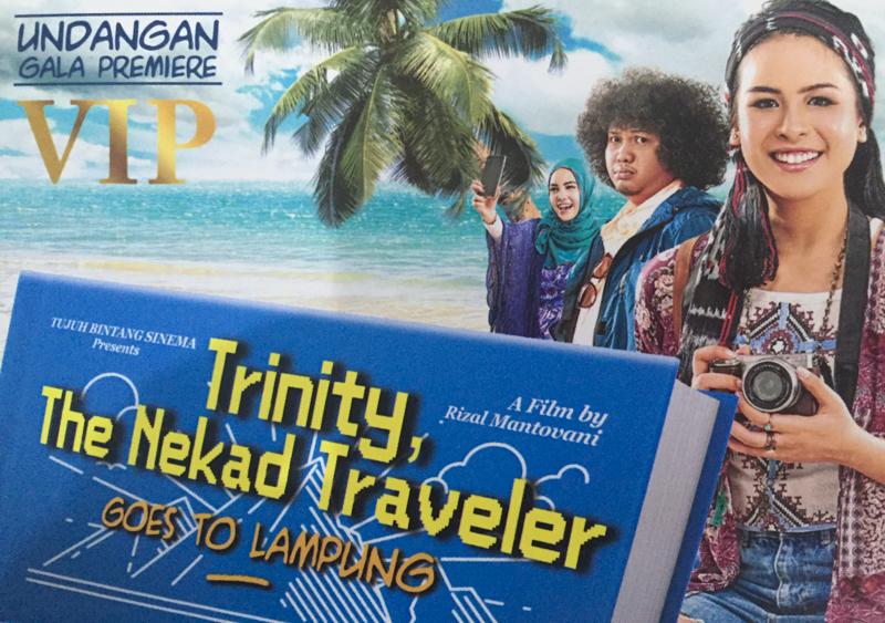 dikasih Undangan Gala Premier The Nekad Traveler