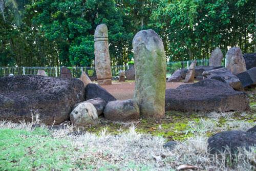 Batu Makam Situs Megalitik Pugung Raharjo