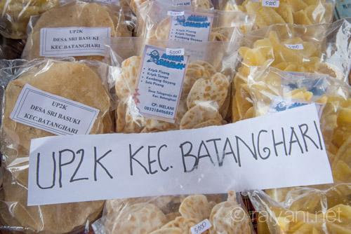 Hasil karya makanan olahan pertanian ibu ibu di kec Batanghari - 5735