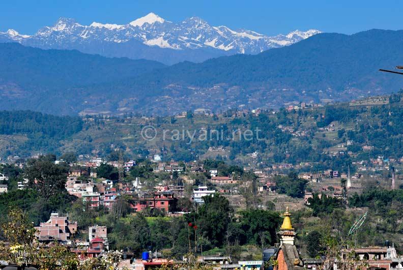 Himalaya dari Bhaktapur