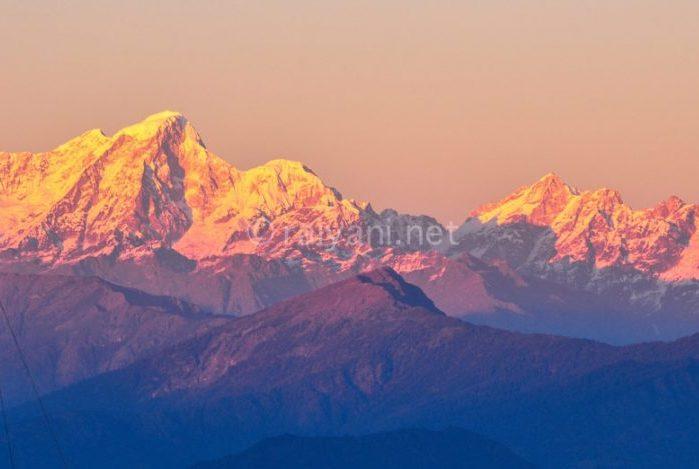 Himalaya sunset Bisket Jatra Festival
