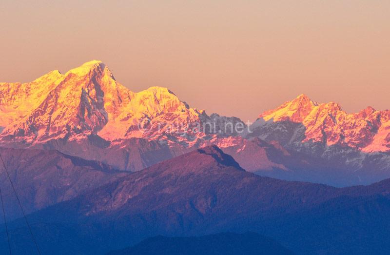 Himalaya sunset
