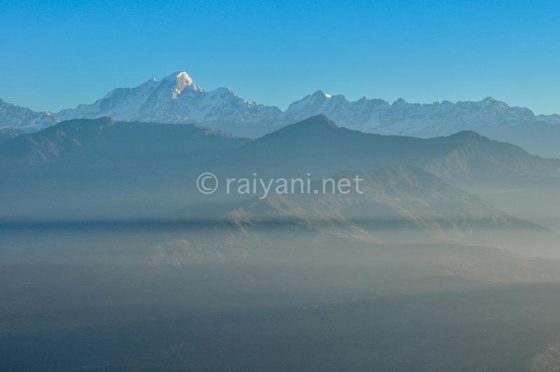 Layer kabut Himalaya