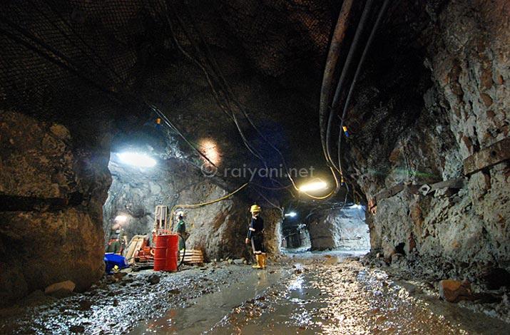 Lorong Tambang emas Pongkor dan proses penambangan - raiyani