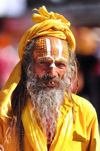 Sadhu, orang suci Hindu Nepal