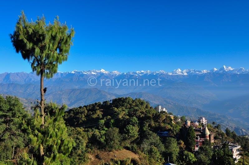 View Himalaya dari Nagarkhot