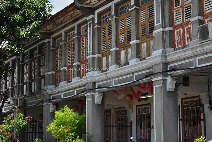 bangunan di china town