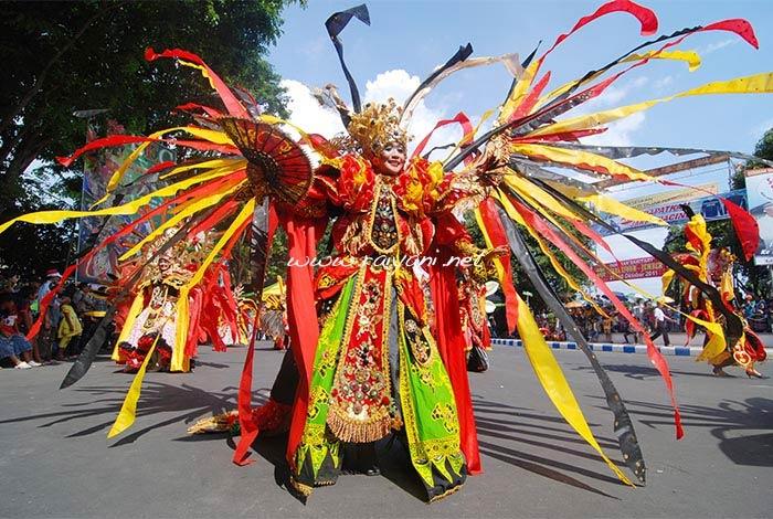 banyuwangi ethno carnival east java