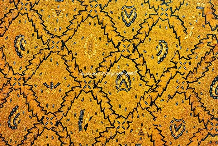 batik solo warna sogan central java