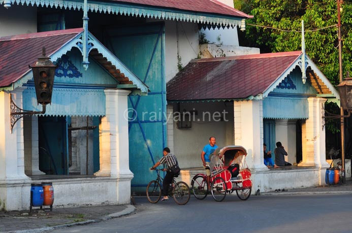 becak solo central java