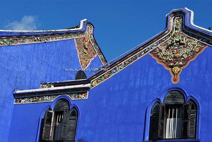 cheong fat tze mansion biasa dikenal dengan blue mansion