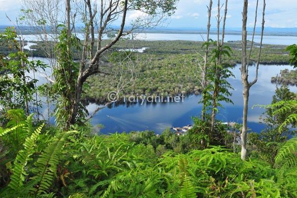 danau sentarum dari bukit tekenang west kalimantan