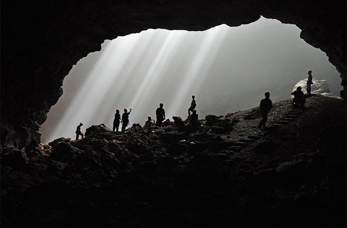 gua vertikal gua jomblang yogyakarta