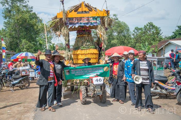 karnaval traktor jagung - raiyani 5855