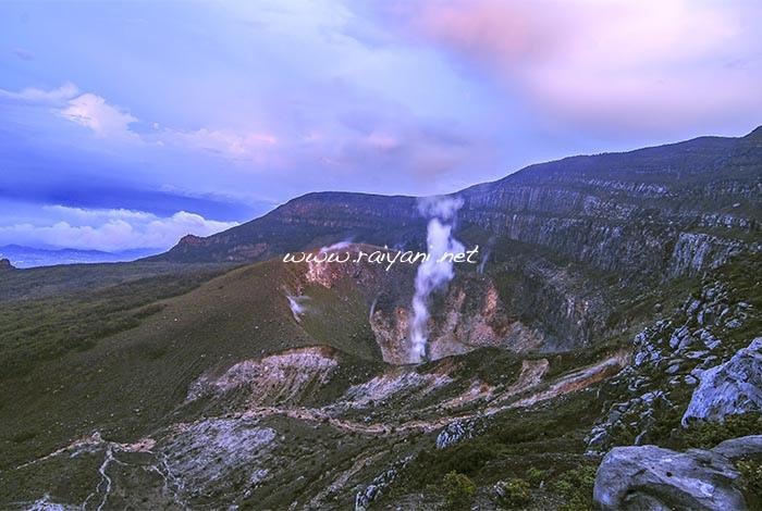 kawah gunung gede west java