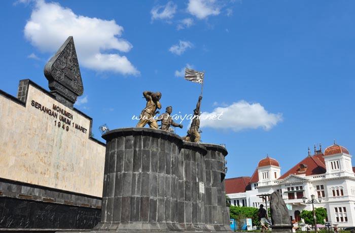 monumen satu maret yogyakarta