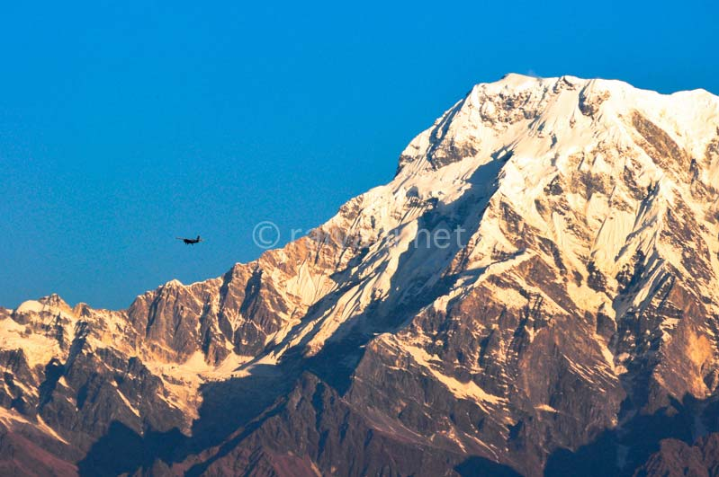 mountain flight di Himalaya