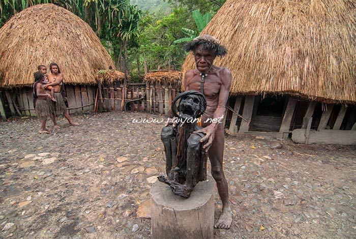 mummy wim motok desa kurulu