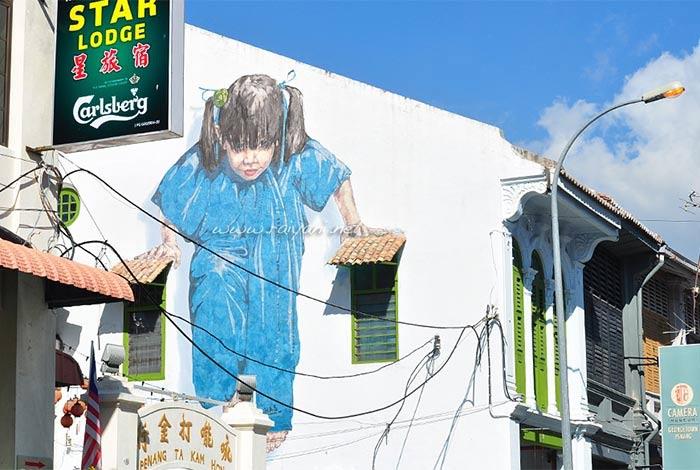 mural di lebuh muntri