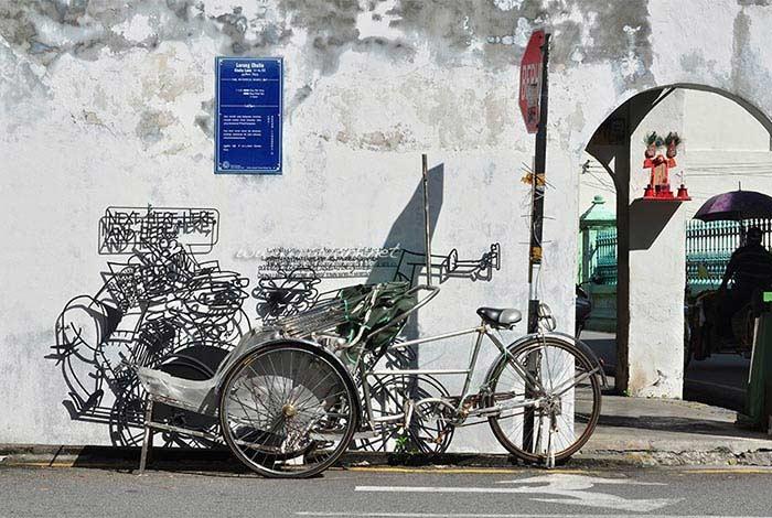 street art lebuh chulia