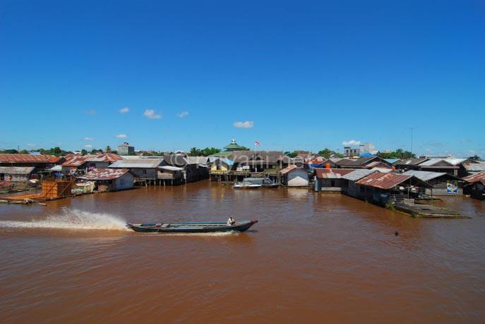 sungai kahayan central kalimantan