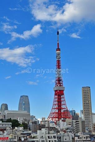 tokyo tower siang hari