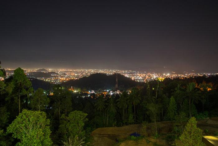 18 View Kota Lampung Malam hari dari Puncak Mas - raiyani 6298